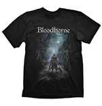 BLOODBORNE Men's Night Street T-Shirt, Extra Extra Large, Black