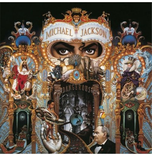 Buy Official Vynil Michael Jackson Dangerous Remastered
