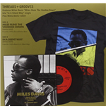 "Vynil Miles Davis - Miles Runs The Voodoo Down / In A Silent Way (7"" & T Shirt Box Set)"