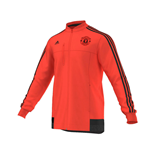 2015-2016 Man Utd Adidas Anthem Jacket (Orange)