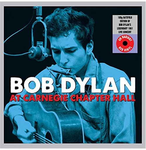 Vynil Bob Dylan - At Carnegie Chapter Hall (Gatefold Red Vinyl) (2 Lp)
