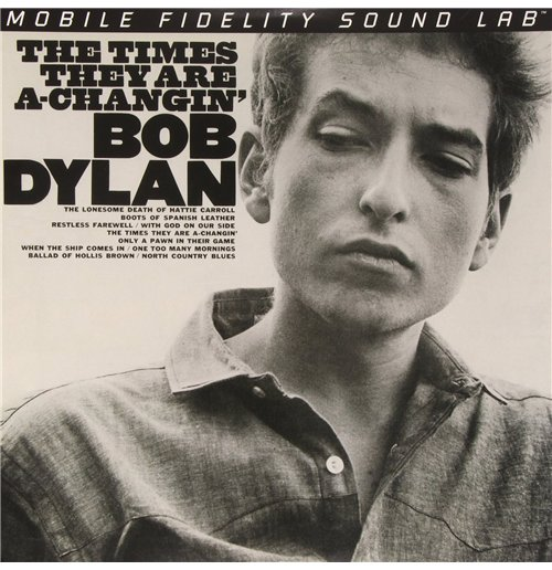 Vynil Bob Dylan - The Times They Are A-changin' (2 Lp)