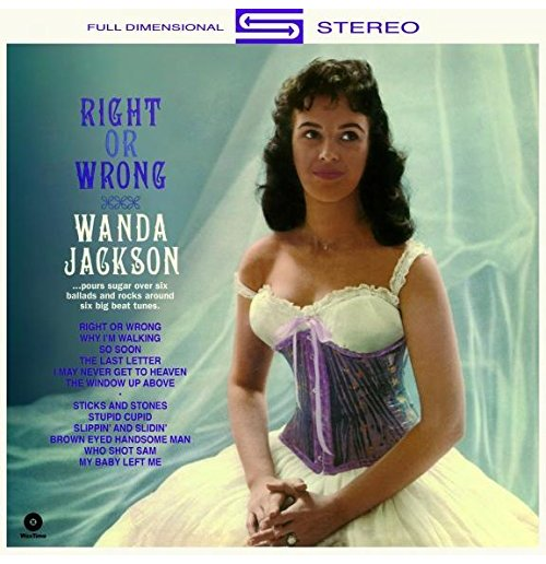 Vynil Wanda Jackson - Right Or Wrong