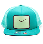ADVENTURE TIME Beemo Video Game Console Face Unisex Trucker Snapback Baseball Cap, One Size, Turquoise