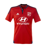 2015-2016 Olympique Lyon Adidas Away Football Shirt