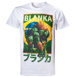 CAPCOM Street Fighter IV Blanka Character Men's T-Shirt, Small, White