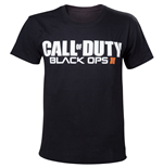 CALL OF DUTY Black Ops III Game Logo Men's T-Shirt, Extra Large, Black