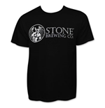 Stone Brewing Men's Black Beer Logo T-Shirt