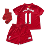 2015-2016 Liverpool Home Mini Kit (Firmino 11)