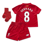 2015-2016 Liverpool Home Mini Kit (Gerrard 8)