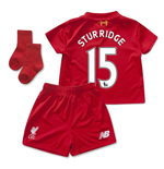 2015-2016 Liverpool Home Mini Kit (Sturridge 15)