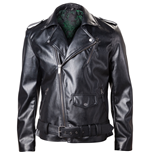 NINTENDO Legend of Zelda Royal Crest Faux Leather Men's Jacket, Small, Black