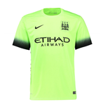 2015-2016 Man City Third Nike Football Shirt