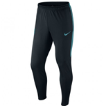 2015-2016 Barcelona Nike Strike Tech Pants (Black-Blue)
