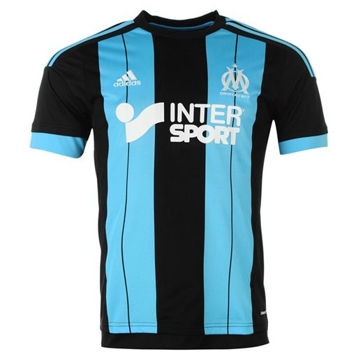 81587f2468f Buy Official 2015-2016 Marseille Adidas Away Shirt (Kids)