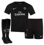 2015-2016 PSG Third Nike Little Boys Mini Kit