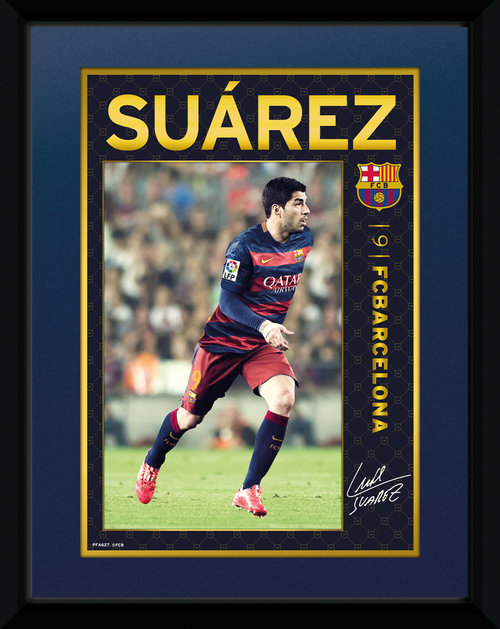 Barcelona Suarez 15/16 Framed Collector Print