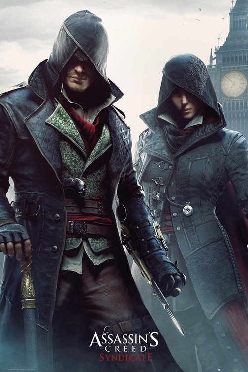 Assassins Creed Syndicate Gang Members Maxi Poster