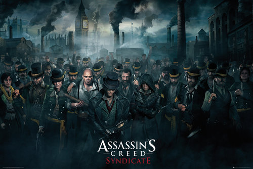 Assassins Creed Syndicate Crowd Maxi Poster
