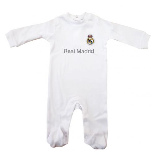 Real Madrid F.C. Sleepsuit 6/9 mths