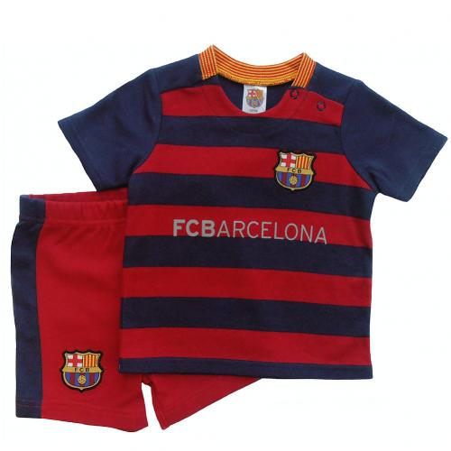 F.C. Barcelona Shirt & Short Set 3/6 mths