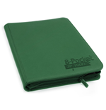 Ultimate Guard 8-Pocket QuadRow ZipFolio XenoSkin Green
