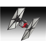 Star Wars Episode VII Build & Play Model Kit with Sound & Light Up Tie Fighter 13 cm