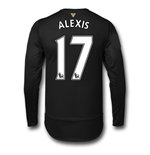 2015-16 Arsenal 3rd Cup Long Sleeve Shirt (Alexis 17) - Kids