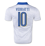 2015-16 Italy Away Shirt (Verratti 10)