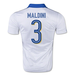 2015-16 Italy Away Shirt (Paolo Maldini 3) - Kids