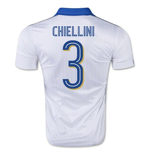 2015-16 Italy Away Shirt (Chiellini 3) - Kids