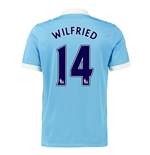 2015-16 Man City Home Shirt (Wilfried 14) - Kids
