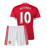 2015-16 Man Utd Home Mini Kit (Rooney 10)