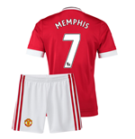 2015-16 Man Utd Home Mini Kit (Memphis 7)