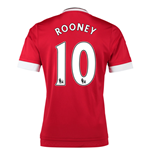 2015-16 Man United Home Shirt (Rooney 10)