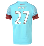 2015-16 West Ham Away Shirt (Payet 27) - Kids