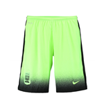 2015-2016 Man City Third Nike Football Shorts