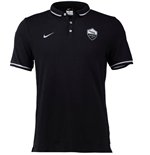 2015-2016 AS Roma Nike Authentic League Polo Shirt (Black)