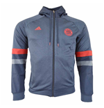 2015-2016 Bayern Munich Adidas SF Hooded Zip Top (Navy)