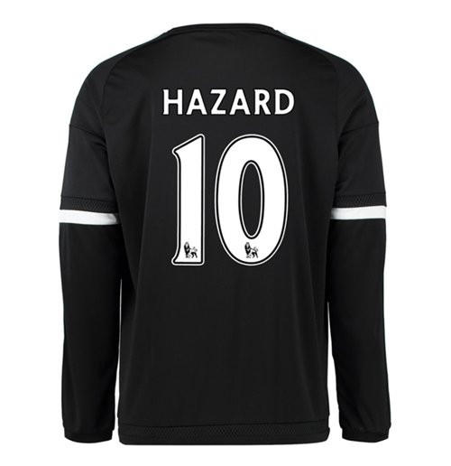 8d5212505ff Buy Official 2015-16 Chelsea 3rd Shirt Long Sleeved (Hazard 10)