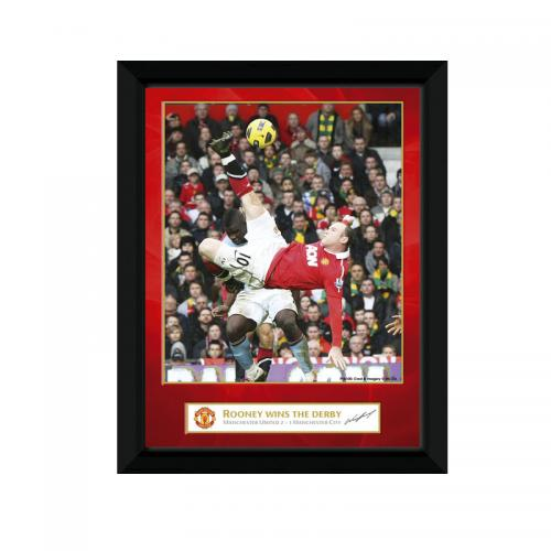 Manchester United F.C. Picture Rooney 8 x 6