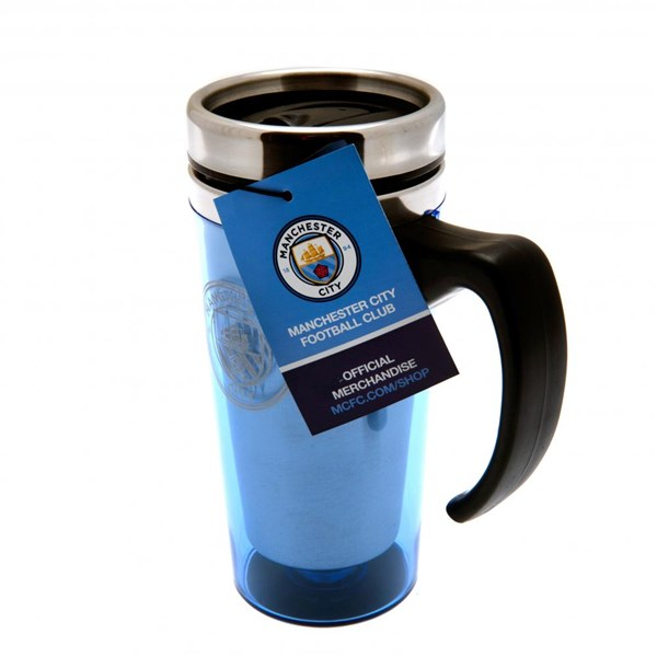 Manchester City F.C. Aluminium Travel Mug