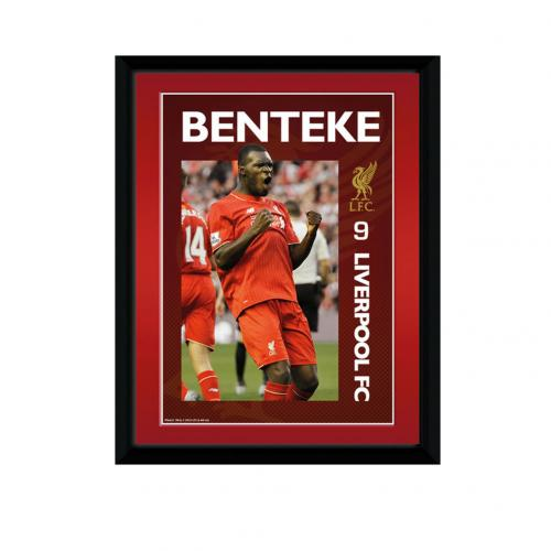 Liverpool F.C. Picture Benteke 8 x 6