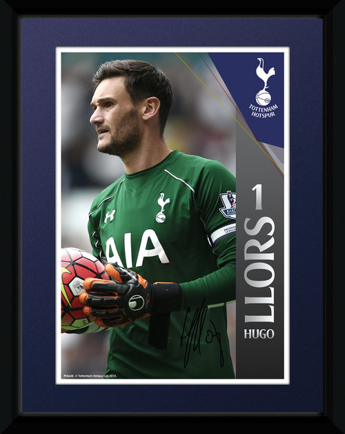 Tottenham Hotspur Lloris Framed Collector Print