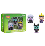 Disney Pocket POP! Vinyl Figure 3-Pack Tin Maleficent, Ursula, Evil Queen 4 cm