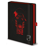 Star Wars Episode VII Premium Notebook A5 Kylo Ren