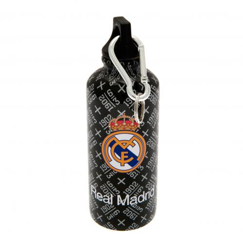 Real Madrid F.C. Aluminium Drinks Bottle BLK