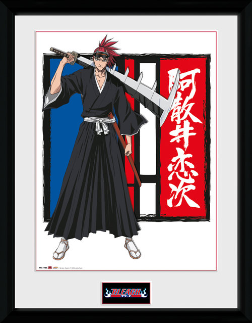 Bleach Renji Framed Collector Print