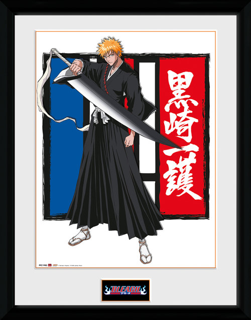Bleach Ichigo Framed Collector Print