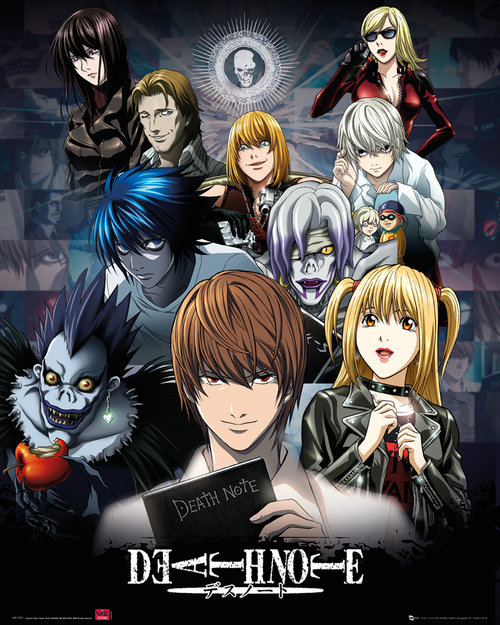 Deathnote Collage Mini Poster